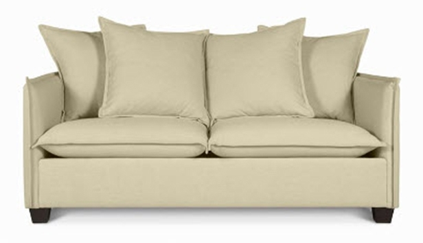 5 Apartment Sized Sofas That Are Lifesavers Hgtvs Decorating very well intended for 6 Foot Sofas (Image 5 of 20)