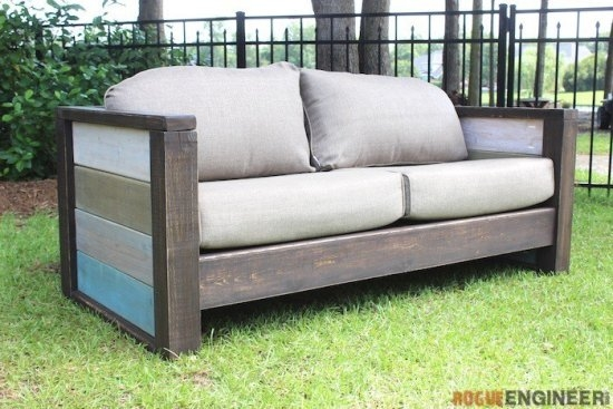 5 Diy Outdoor Sofas To Build For Your Deck Or Patio The effectively intended for Diy Sectional Sofa Plans (Image 4 of 20)