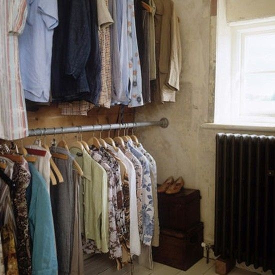 51 Best Open Wardrobe Images On Pinterest well for Wardrobe Double Hanging Rail (Image 9 of 20)