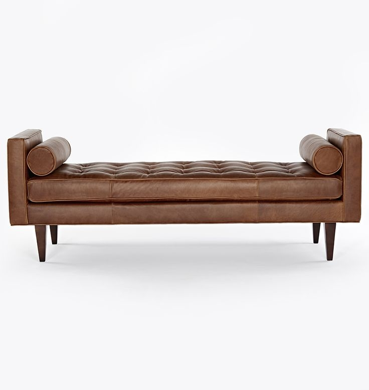 55 Best Banquettes Benches Sofas Images On Pinterest Perfectly Pertaining To Leather Bench Sofas (Photo 9 of 20)