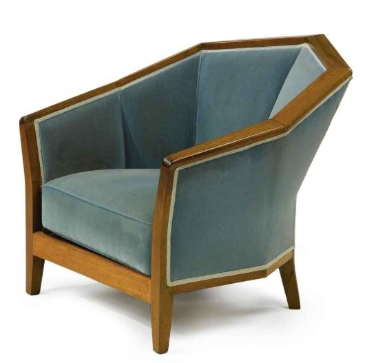 56 Best Art Deco Upholstery For Grandmothers Sofa Images On Nicely With Regard To Art Deco Sofa And Chairs (Photo 2 of 20)