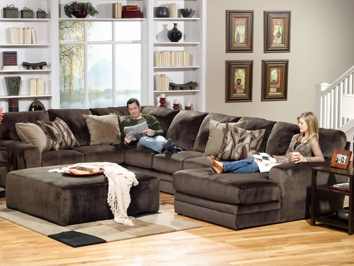 6 Piece Leather Sectional Sofa Thesofa properly pertaining to 6 Piece Leather Sectional Sofa (Image 2 of 20)