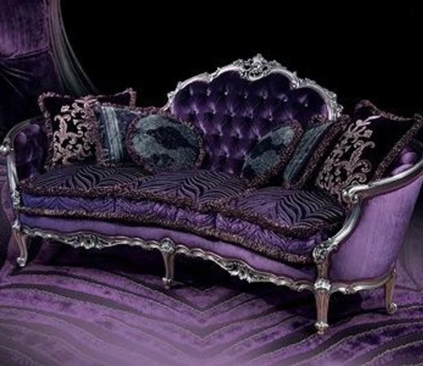 6473 Best Sofa Images On Pinterest certainly with regard to Velvet Purple Sofas (Image 2 of 20)