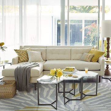 Featured Photo of Coffee Table For Sectional Sofa With Chaise