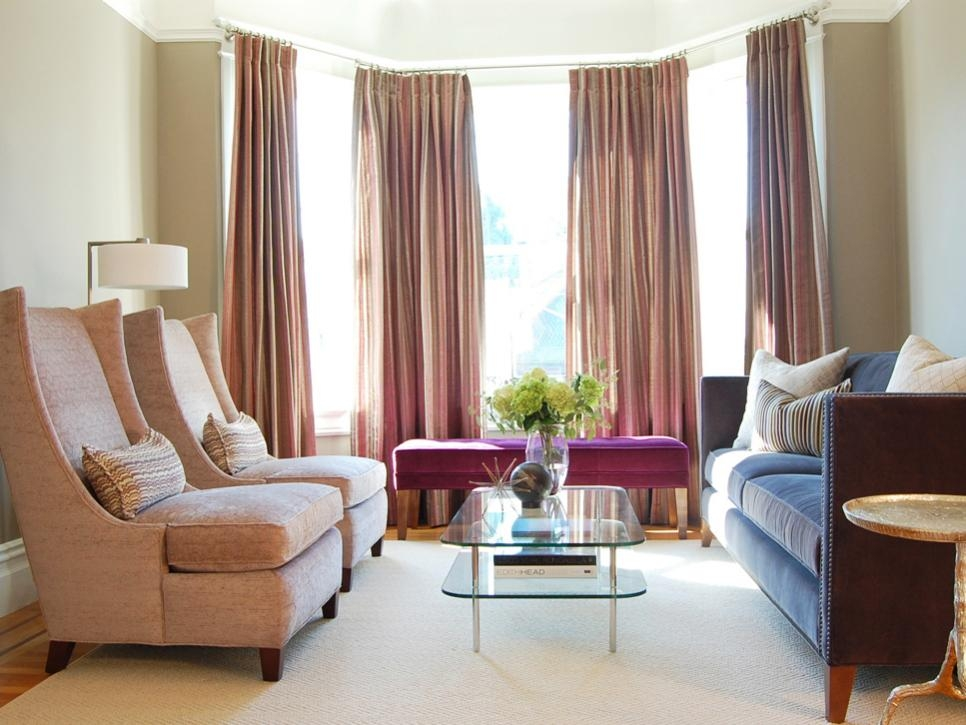 7 Furniture Arrangement Tips Hgtv certainly regarding Living Room Sofa Chairs (Image 1 of 20)