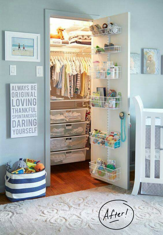 7 Ideas For Organising Kids Wardrobes The Organised Housewife definitely inside Childrens Double Rail Wardrobes (Image 13 of 20)