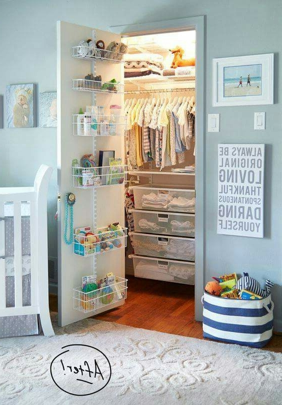 7 Ideas For Organising Kids Wardrobes The Organised Housewife most certainly inside Double Rail Childrens Wardrobes (Image 14 of 30)