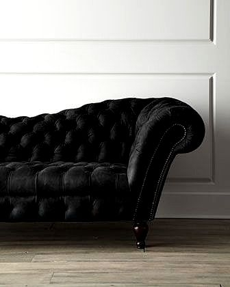 72 Best Velvet And Leather Images On Pinterest very well in Black Velvet Sofas (Image 1 of 20)