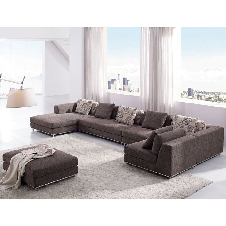 73 Best Sectionals Images On Pinterest properly for Modern Sofas Sectionals (Image 2 of 20)