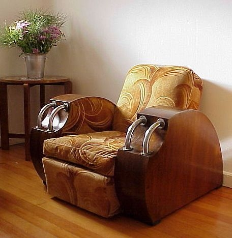 828 Best Art Deco Furniture Furnishings Images On Pinterest perfectly intended for Art Deco Sofa and Chairs (Image 5 of 20)