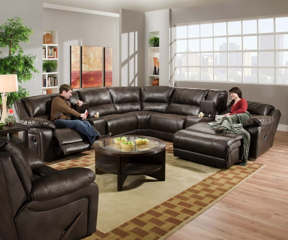 9 Best Leather Sectional Sofa With Chaise Lounge Built In Walls good with regard to Coffee Table for Sectional Sofa With Chaise (Image 3 of 20)