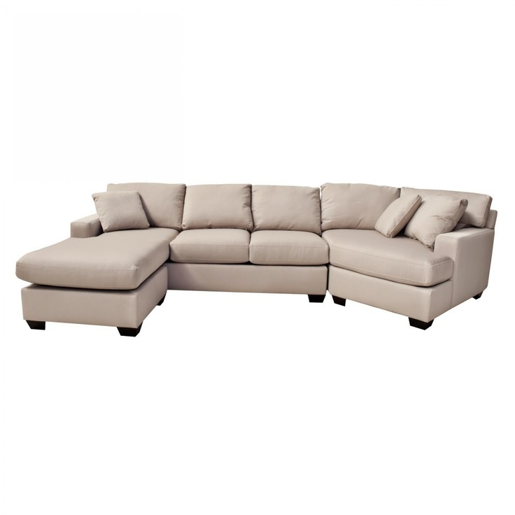 9 Best Living Room Images On Pinterest properly intended for 45 Degree Sectional Sofa (Image 3 of 20)