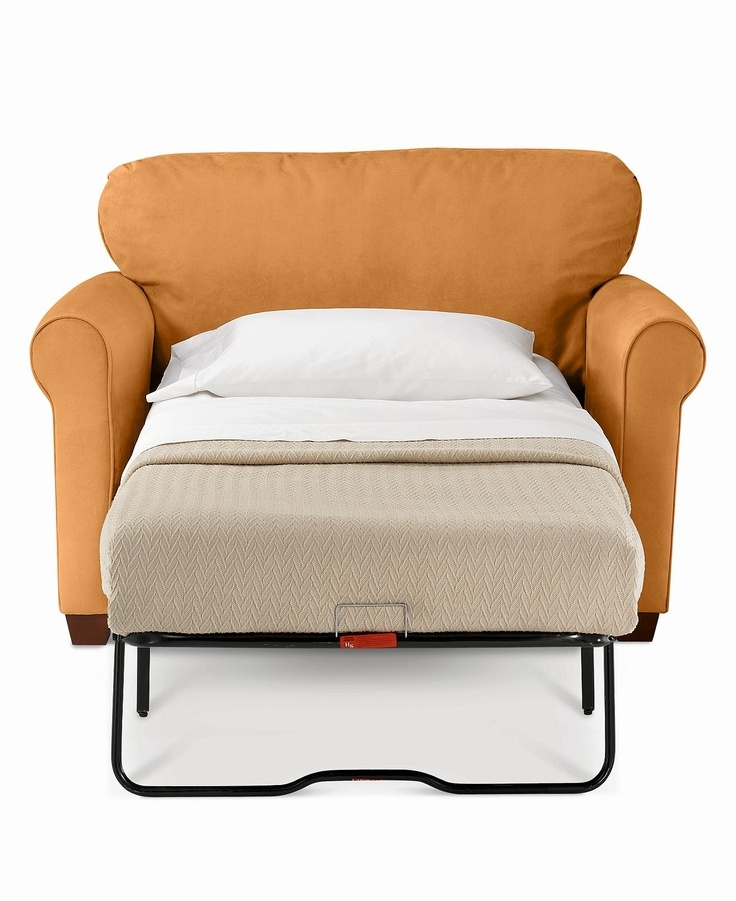 93 Best Sleeper Chair Images On Pinterest perfectly with regard to Twin Sofa Chairs (Image 1 of 20)