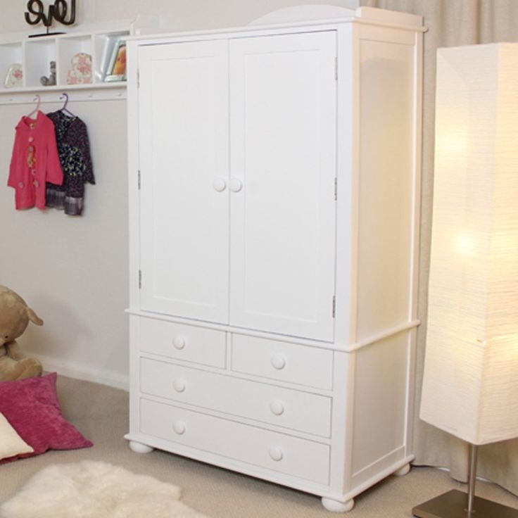933 Best Bedroom Furniture Images On Pinterest certainly regarding Double Rail Childrens Wardrobes (Image 27 of 30)