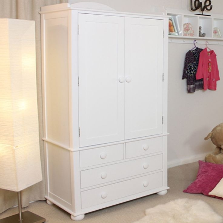 933 Best Bedroom Furniture Images On Pinterest very well inside Childrens Double Rail Wardrobes (Image 9 of 20)