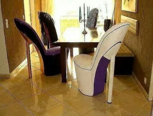 95 Best Shoe Chair Images On Pinterest good within Heel Chair Sofas (Image 7 of 20)