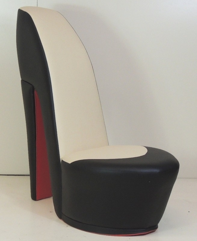 95 Best Shoe Chair Images On Pinterest well with Heel Chair Sofas (Image 9 of 20)