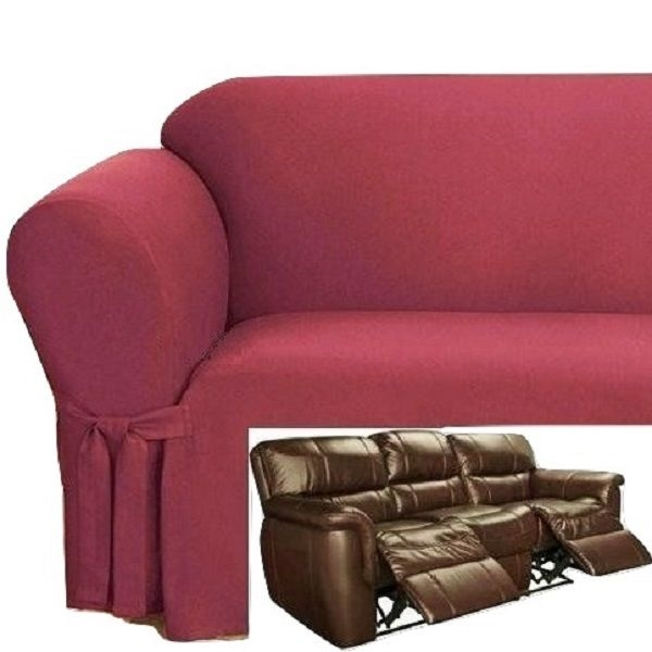 95 Best Slipcover 4 Recliner Couch Images On Pinterest Well With Sofa Armchair Covers (View 3 of 20)