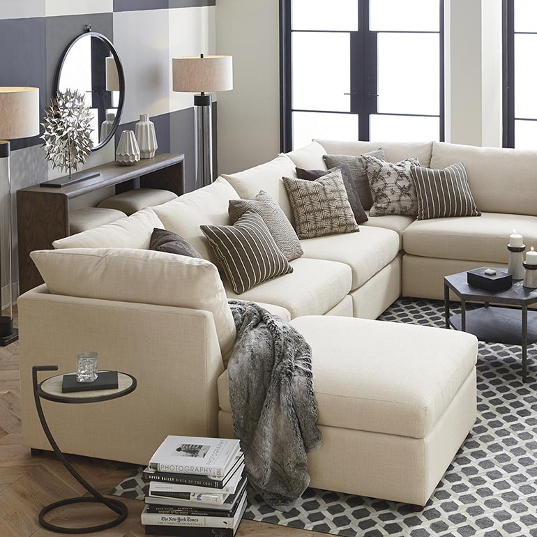 A Sectional Sofa Collection With Something For Everyone clearly for Bassett Sectional Sofa (Image 3 of 20)