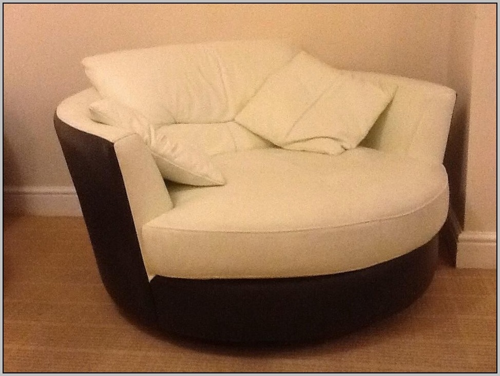 Adorable Round Sofa Chair Living Room Furniture Round Sofa Chair Nicely Pertaining To Round Sofa Chairs (View 9 of 20)