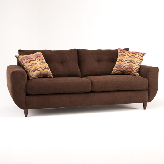 Affordable Fabric Sofas Cotton Microfiber Jeromes perfectly intended for Fabric Sofas (Image 1 of 20)