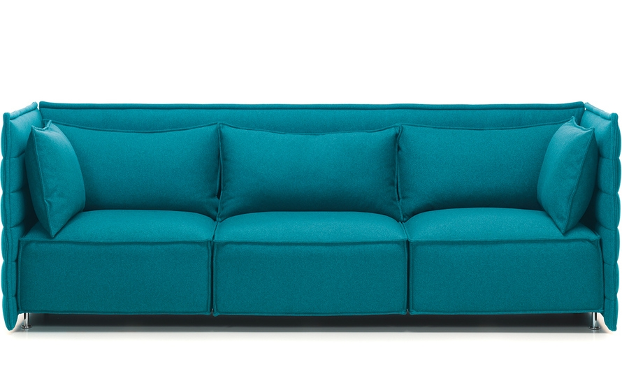 Alcove Plume 3 Seater Sofa Hivemodern most certainly with regard to Three Seater Sofas (Image 2 of 20)