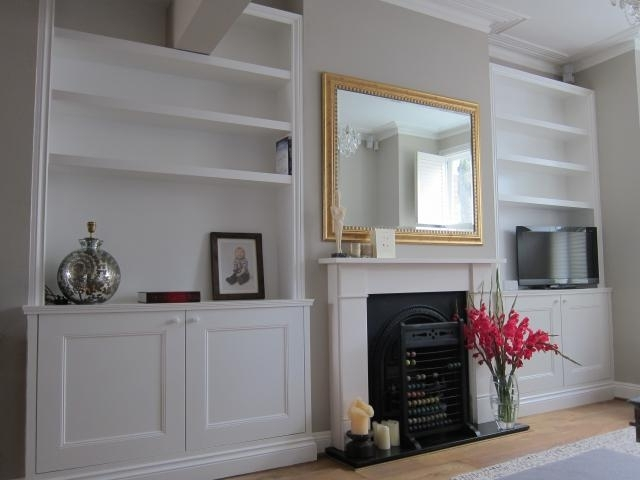 Alcove Shelves With Cupboard Storage Above Skirting Boards certainly in Alcove Wardrobes Designs (Image 21 of 30)
