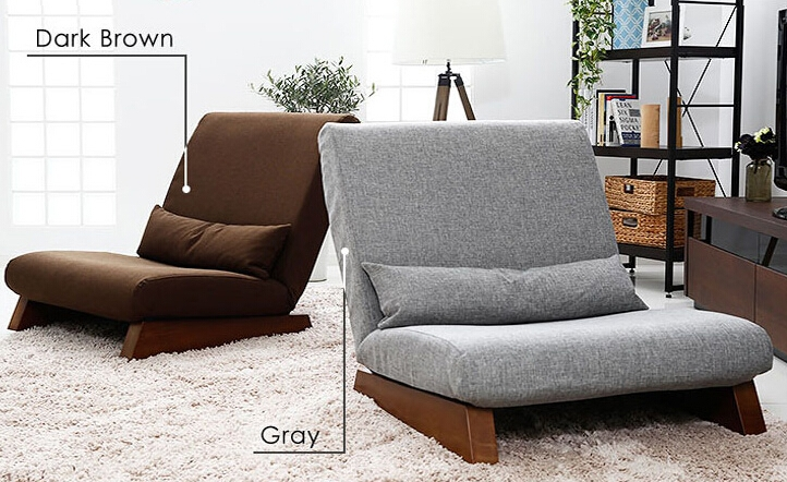 Aliexpress Buy Floor Foldable Sofa Chair Modern Fabric most certainly for Single Seat Sofa Chairs (Image 4 of 20)