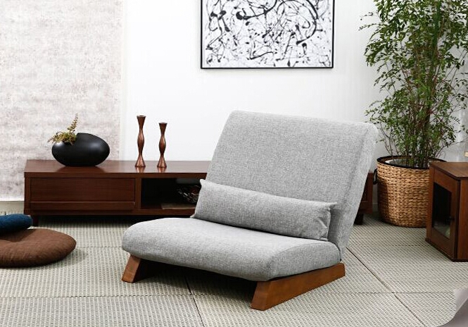 Aliexpress Buy Floor Foldable Sofa Chair Modern Fabric perfectly inside Single Seat Sofa Chairs (Image 5 of 20)