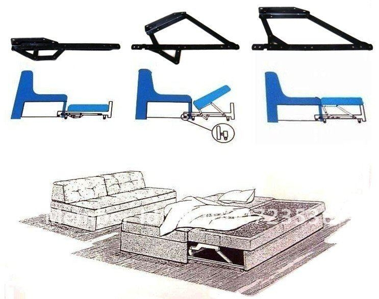 Aliexpress Buy Sofa Bed Mechanism Furniture Hardware Sofa definitely intended for Sofa Accessories (Image 5 of 20)