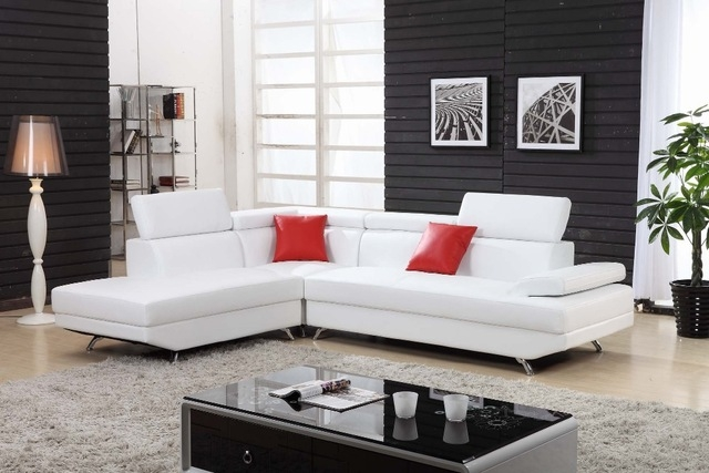 Aliexpress Buy Unique Design Modern Living Room Leather definitely within Unique Corner Sofas (Image 2 of 20)