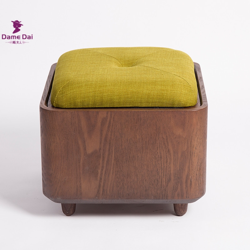 Aliexpress Buy Wooden Organizer Storage Stool Ottoman Bench certainly for Coffee Table Footrests (Image 3 of 20)