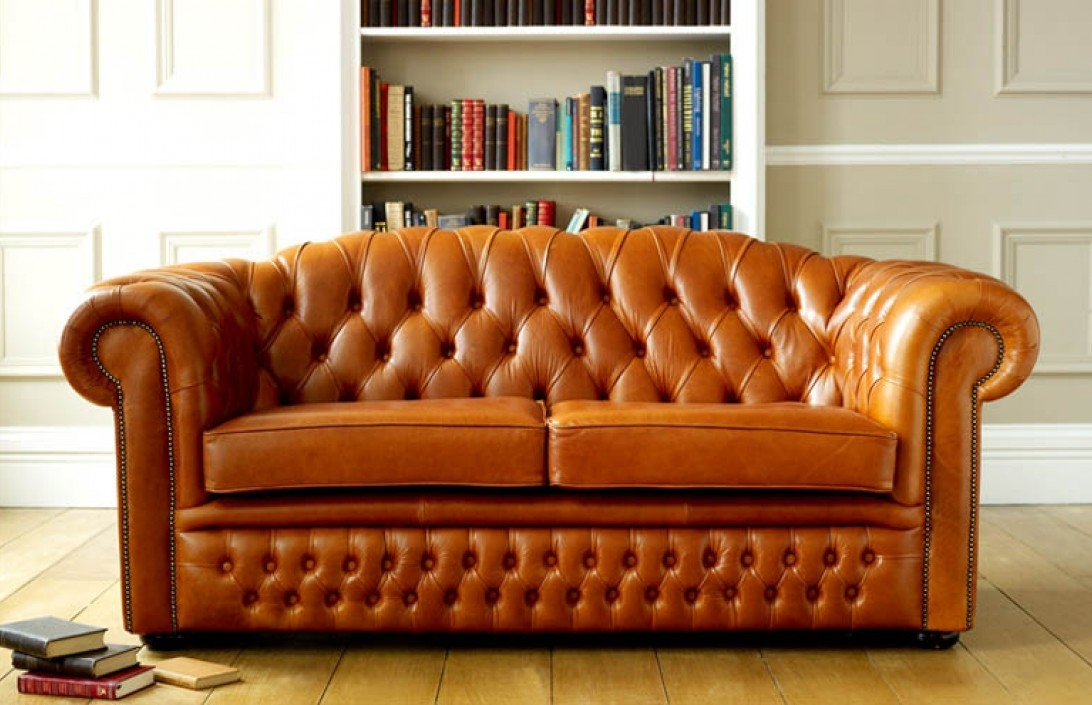 Amazing Brown Leather Chesterfield Sofa Chesterfield Sofa properly inside Leather Chesterfield Sofas (Image 4 of 20)