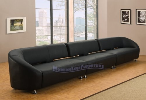 Amazing Long Modern Sofa With Long Island Sectional Sofa White well throughout Long Modern Sofas (Image 3 of 20)