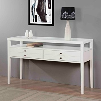 Amazon Accent Table Sofa Table With Storage Gloss White Sofa effectively intended for Sofa Side Tables With Storages (Image 3 of 20)