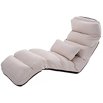 Amazon Best Choice Products Cushioned Floor Gaming Sofa Chair nicely intended for Folding Sofa Chairs (Image 4 of 20)
