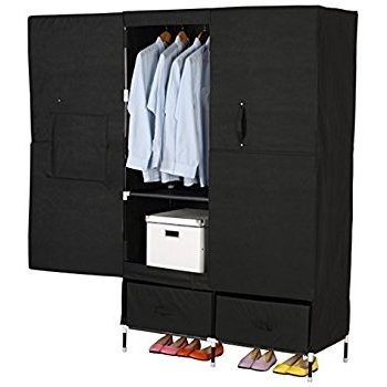 Amazon Brimnes Home Bedroom Wardrobeswardrobe With 3 Doors well inside 2 Door Wardrobe With Drawers And Shelves (Image 22 of 30)