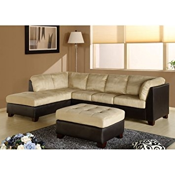 Amazon Charlotte Sectional Sofa And Ottoman In Beige very well regarding Abbyson Living Charlotte Beige Sectional Sofa And Ottoman (Image 2 of 20)