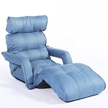 Amazon Cozy Kino Pro Floor Sofa Chair Multi Functional clearly inside Sofa Chair Recliner (Image 4 of 20)