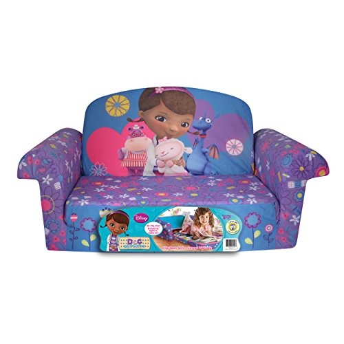Amazon Marshmallow Furniture Childrens 2 In 1 Flip Open definitely intended for Toddler Sofa Chairs (Image 5 of 20)