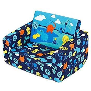 Amazon Marshmallow Furniture Childrens 2 In 1 Flip Open effectively inside Childrens Sofa Bed Chairs (Image 2 of 20)