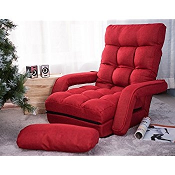 Amazon Merax Folding Lazy Sofa Floor Chair Sofa Lounger Bed most certainly in Sofa Lounger Beds (Image 6 of 20)