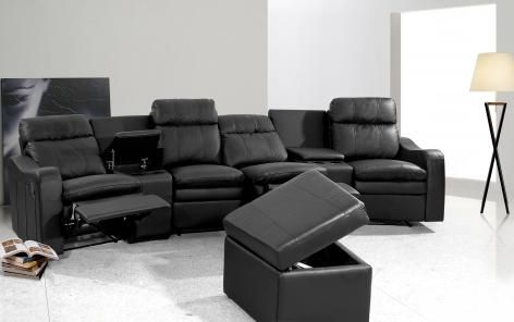 Ambassador 4 Seater Recliner Denellis Reclining Sofas good with regard to 4 Seater Couch (Image 2 of 20)