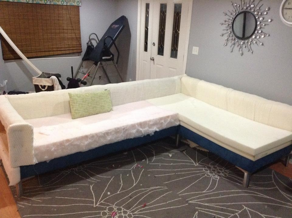Ana White Modern Sectional Sofa Diy Projects properly pertaining to Diy Sectional Sofa (Image 9 of 20)