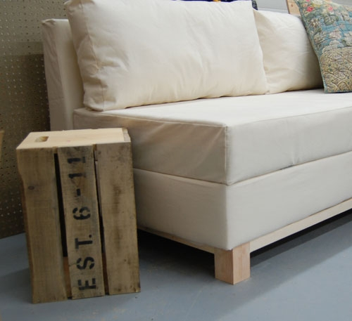 Ana White Storage Sofa Diy Projects nicely intended for Diy Sleeper Sofa (Image 3 of 20)