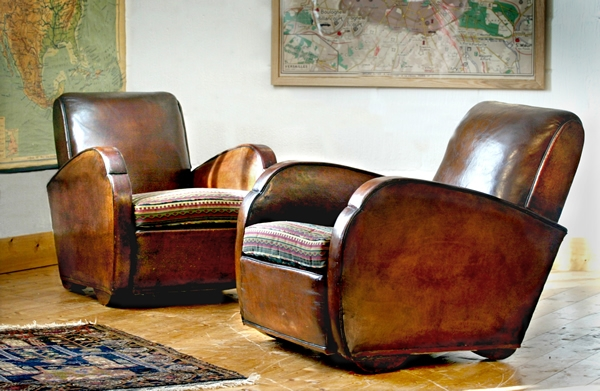Antique Leather Armchairs Danbury Upholsterers Of Maldon Essex effectively in Vintage Leather Armchairs (Image 4 of 20)