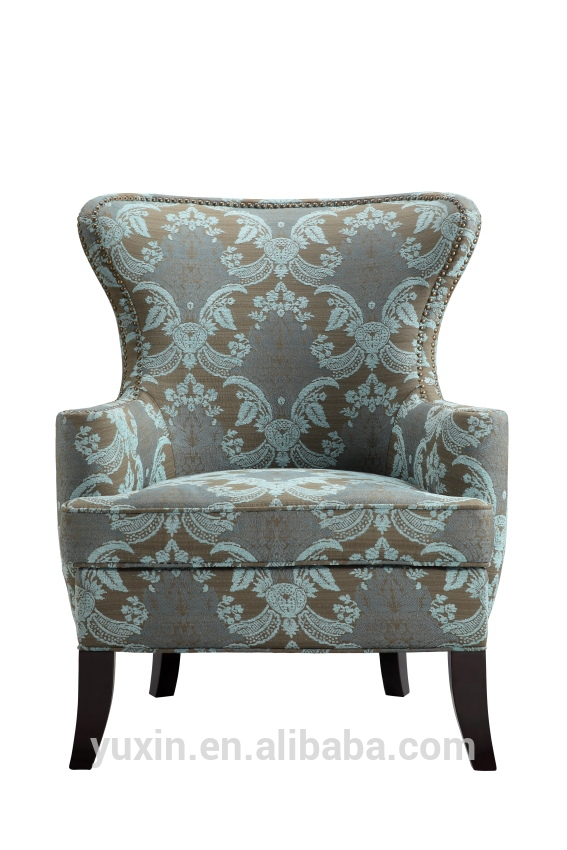 Antique Leisure Wooden Sofa Chairs With Ottomanold Fashioned properly in Sofa Chairs (Image 1 of 20)