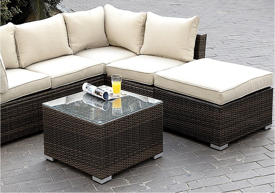 Appealing Outdoor Patio Furniture Sectional Design Round Outdoor definitely with regard to Cheap Patio Sofas (Image 1 of 20)