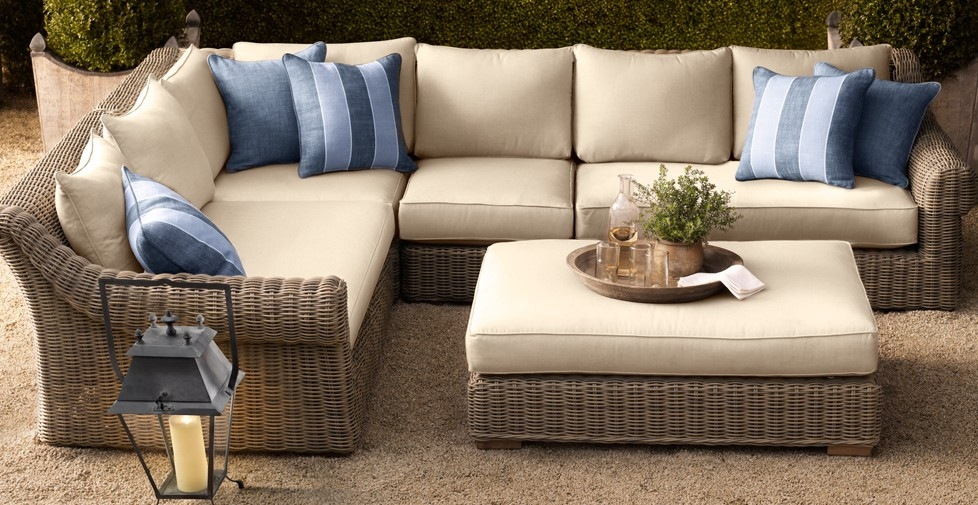 Appealing Outdoor Patio Furniture Sectional Design Round Outdoor effectively intended for Cheap Patio Sofas (Image 2 of 20)