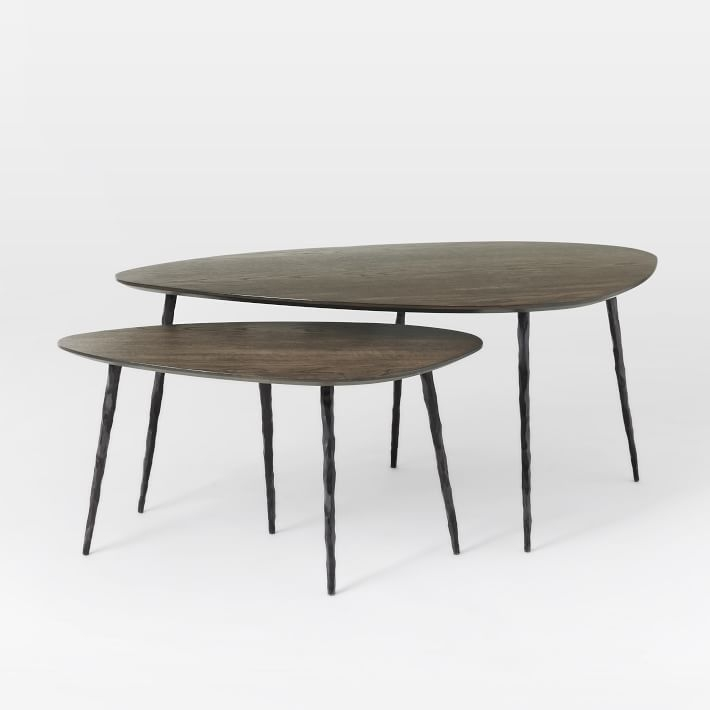 Architect Nesting Coffee Tables West Elm Most Certainly Within Stackable Coffee Tables (View 1 of 20)